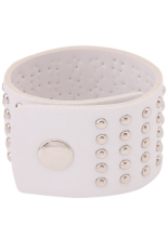 HengSong Hand Catenary Bracelet with Leather Bracelet (White)