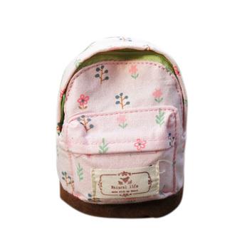 ... Abu International Source · Hequ Trendy Kids Mini Schoolbag Design Zipper Coin Purse Rural Floral Cute Wallets Change Cards Bag