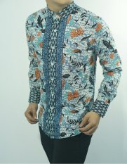 Herman Batik Baju A9065 Kemeja Batik Pria Slimfit Fashion Jeans