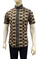 Herman Batik Kemeja Batik Slimfit A7870 Pria Kombinasi Muslim Koko Jeans
