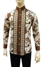 Herman Batik Kemeja Batik Slimfit B8159 Pria Kombinasi Muslim Koko Jeans