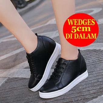 Kehebatan Bd06 Sneakers Wedges Wanita Korea Dan Harga Update ... 094b027bad