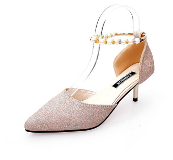 High Heels Patent Leather Women Pumps Pointed Toe Sexy Ladies Stiletto Shoes - Intl - Intl