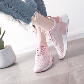 [high quality] sports casual shoes, running shoes, goddess shoes(Pink) - intl