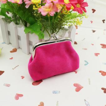 High Quality Store New Women Vintage Pouch Florals Dots PrintedWallet Coins Holder Case Pocket Mini Purse