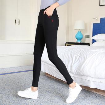 perempuan celana ketat kaki bottoming celana (Tidak ada gesper. Source ·