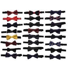 HomeGarden Classic Adjustable Men's Bow Tie Wedding Party Necktie Bowtie For Men L01 - Intl