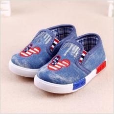 Hongkong Fashion Baby and Toddler Shoes Loafer USA Jeans