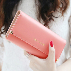 Hot Sale! Candy Color Fashion Leather Women Clutch Wallets, Ladys Multi Function Large Wallet, Female Phone Holding Purse - intl