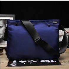 Hot Sales Men's Requisite Oxford Cloth Shoulder Bag Waterproof And Portable Fashion Messenger Bag Outdoor Leisure Crossbody Bags(Blue) - Intl