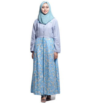 House of Shaqina Overall Top Sunflower - Biru