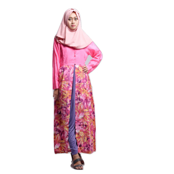 House of Shaqina Overall Top Sunflower - Pink