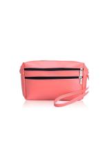 HuoLaLa Womens Wallet Lady Card Coin Wallet Clutch Zipper Pu Purse Cellphone Bag Money Holder Tote Pink (Intl) - Intl