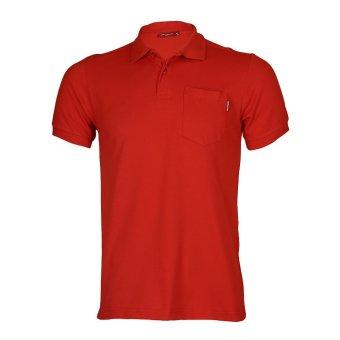 Hush Puppies Polo Shirt Pria Sandman MK10505RD Red