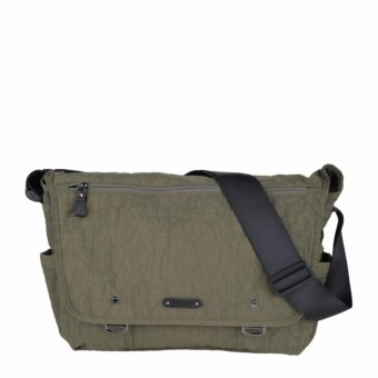 Hush Puppies Tas Slempang Pria Tommy Messenger - Olive