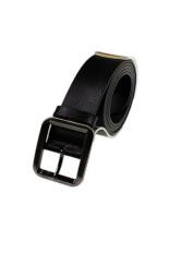 HY89 Pin Buckle Cowskin Belt (Black)