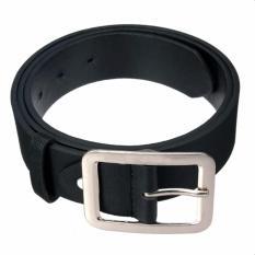 Ikat Pinggang Pria Polyuretan Leather 510 1E Style Formal Basic Black .