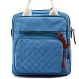 Ilife Atrra-Yo! High Quality Product Women Handbag Mom Shoulder Bag Messenger Canvas Bags Fresh Design Bag Blue