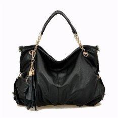 Ilife NEW Fashion Women Leather Bags Women's Messenger Bags Brand Design Woman Zipper Shoulder Bag Wholesale Black