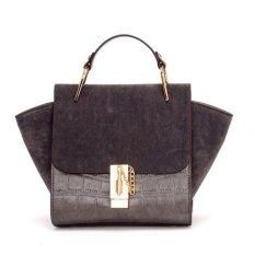 Ilife Trapeze Bag Women Tote Messenger Bags Fashion Women Handbags Bolsas Mujer Vintage Women PU Leather Handbags Grey