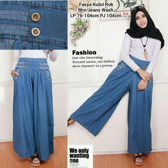 ... Jeans Pant Biru Harga Dan Spesifikasi 168 Collection Celana Kulot Faszha