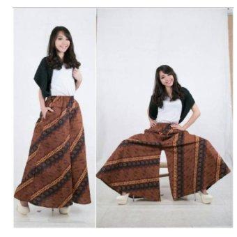 ... Jual 168 Collection Celana Sakirah Kulot Rok Jeans Biru Murah