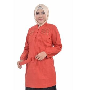 inara house - Blous Manet Mb 020- orange - L