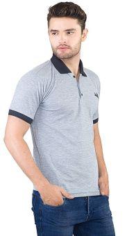 Inficlo SFC 169 Polo Shirt Pria - Lacoste - Bagus (Abu)