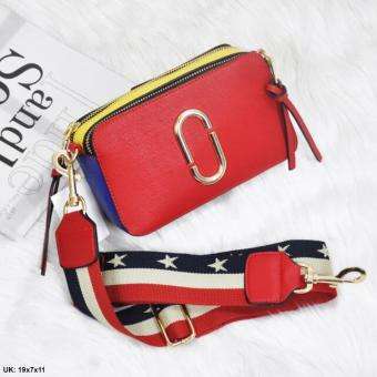 Intristore Tas Fashion Wanita Branded MJ Import - Red