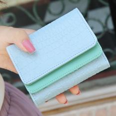 ... Irak babe manis perempuan Jepang dan Korea Fashion Style ganda dompet wanita kecil wallet Light
