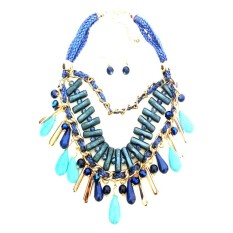 Istana Accessories Fashion Necklace Chain Coiled Rope (Not Defined)
