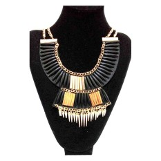 Istana Accessories Unique Fashion Chain Necklace Collar (Not Defined)