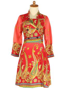 Iyesh HEMG8283 - 8283 Dress - Merah