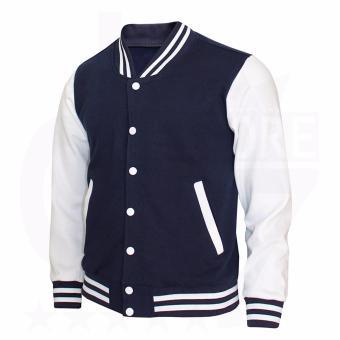 Harga Unisex Bomber Jacket stripe - jacket varsity bomber - Jacket ... 7957dd8a4c