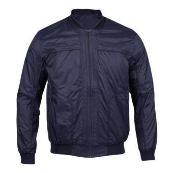 Jaket Bomber - Jaket Pria - Jaket Pria - Jaket Murah - Jaket Warna Biru Navy 52ca494e1e