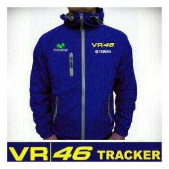 Jaket Tracker Rossi 46 - Biru