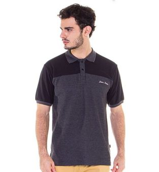 Java Seven DED 619 Polo Shirt Pria Lacoste Bagus (Coklat)