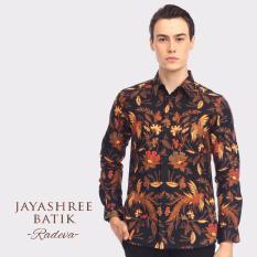 Jayashree Batik Kombinasi Tulis Kemeja Slimfit Radeva Long Sleeve Men