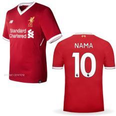 Jersey Liverpool Home 2017/2018 Custom Nama & Nomor