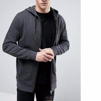Jfashion Men's Hoodie Jacket With Zipper - Novan Abu tua