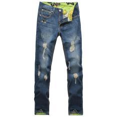 JIEYUHAN Men's Rugged Wear Relaxed Fit Jean - Intl