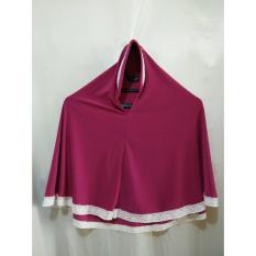 Jilbab anak instant bahan jersey