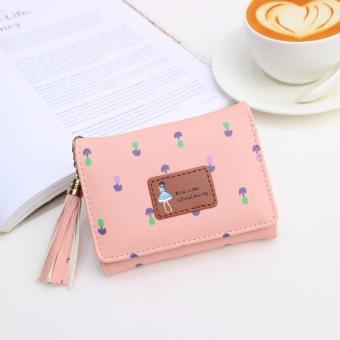 Jims Honey - Dompet Lipat Kecil Wanita - Pandora Wallet (Softpink)