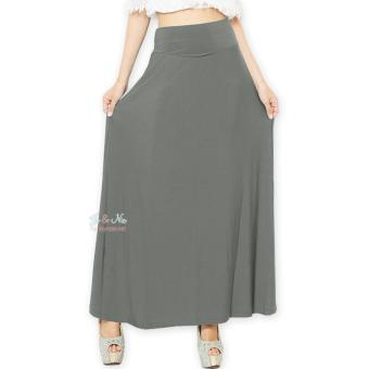 JO & NIC A-Line Maxi Skirt Rok Hijab - Fit to XL - Grey