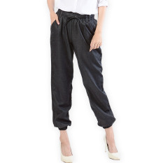 JO & NIC Black Denim Jogger Pants