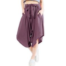 JO & NIC Celana Kulot Harem Pita - Purple