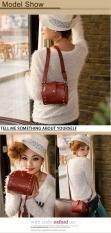 Jo.In Small Synthetic Leather Rivet Bag Mobile Phone Camera Bag Ladies Shoulder Handbag Women Satchel Bag Messenger Bag