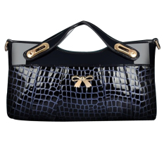 Jo.In Women Messenger Bag Handbag Clutch Shoulders To Women Bow High Quality Synthetic Leather Bags - Intl
