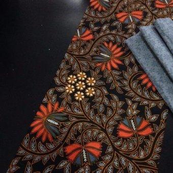 Kain Batik Kombinasi Bahan Katun Dan Embos Bawahan Kebaya KKK046