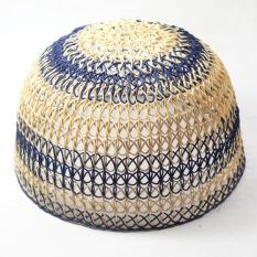 Kalimantan Peci Kopiah Rotan Warna Handmade